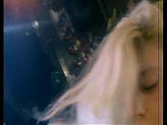 blonde stripper singing